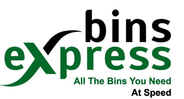 logo for bins express